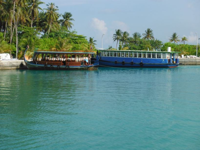 Maldives cheaper transport thank to network of government ferries