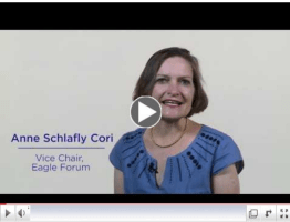 Click for Anne Schlafly Cori's Eagle Forum story.