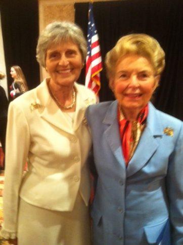 Eunie Smith & Phyllis Schlafly