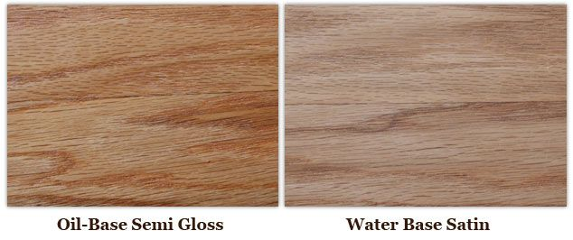 Water Based Polyurethane Over Oil Based Varnish