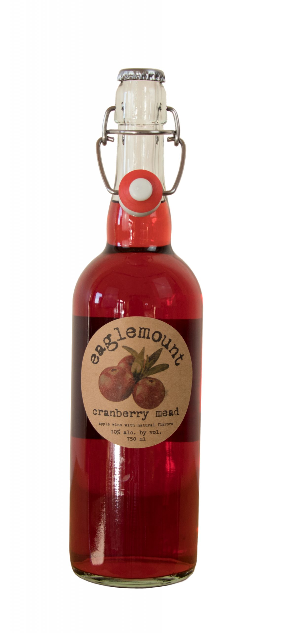 Cranberry Mead Eaglemount Winery Cidery