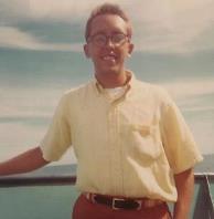author in Hawaii, 1968