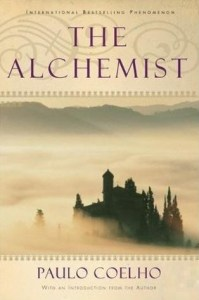 Cover of The Alchemist, by Paulo Coehlo