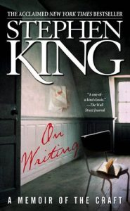 """Cover of Stephen King's """"On Writing--a Memoir of the Craft"""""""
