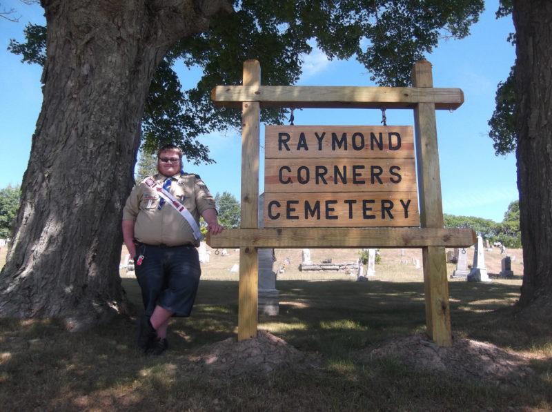 Restoration of Raymond Corners Cemetery