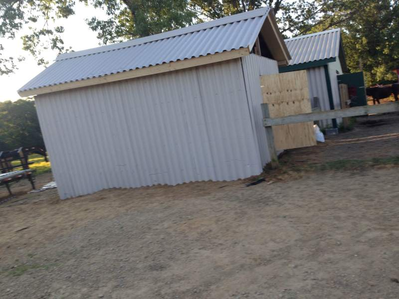 Refurbishment of a Tack Barn for Old West Special Trails