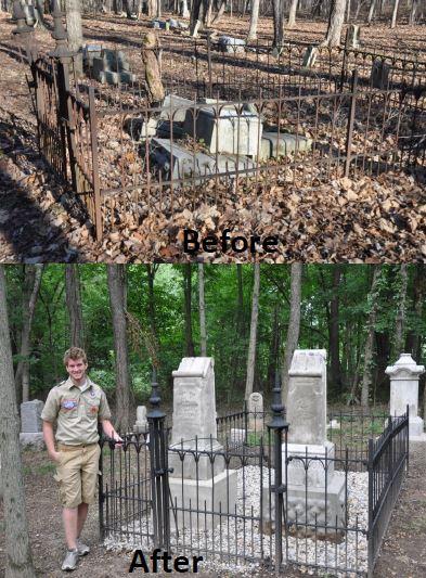 Mechanicsburg Cemetery Restoration