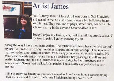 Tammy James Bio