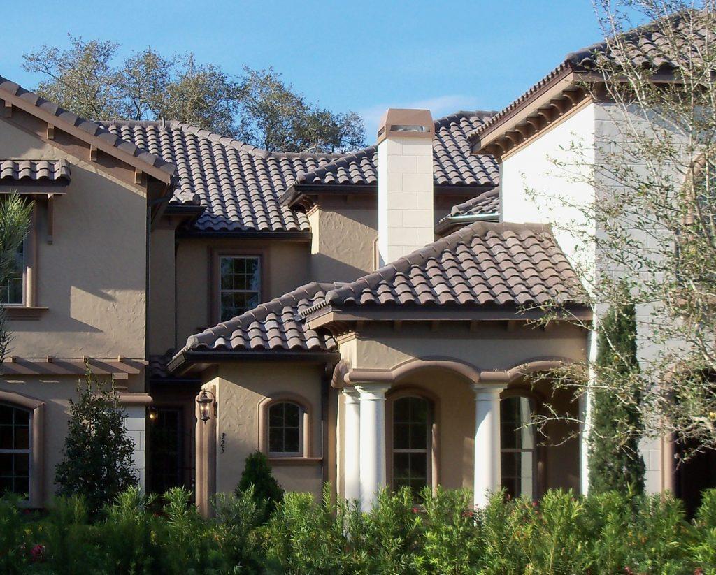 high barrel concrete roof tile eagle
