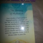The Blessing of Meditation