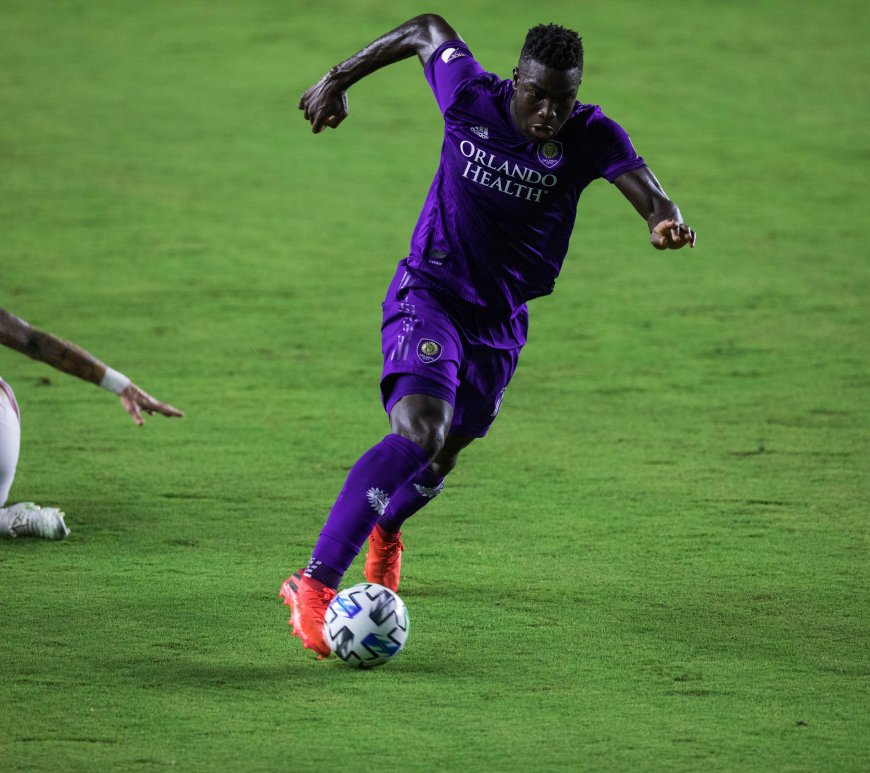 Daryl Dike scores for Orlando City SC