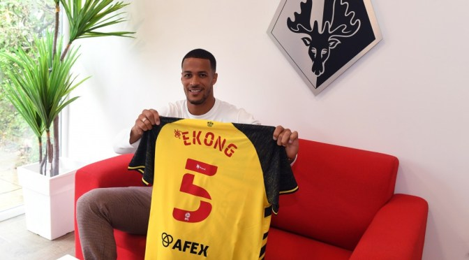 William Troost-Ekong joins Watford on a five-year deal