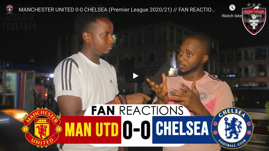 Manchester United 0-0 Chelsea