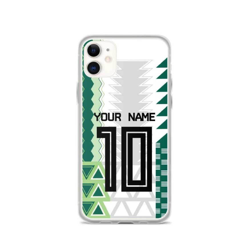 Custom Nigeria Jersey iPhone Case