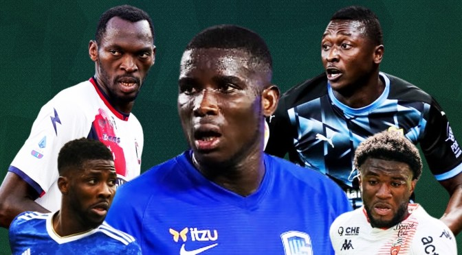 Five Nigerian Forwards to Watch in 2021/2022