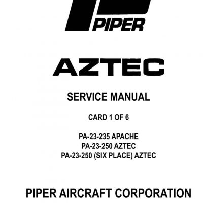Cessna Model 210 & T210 Series (1977 Thru 1984) Service