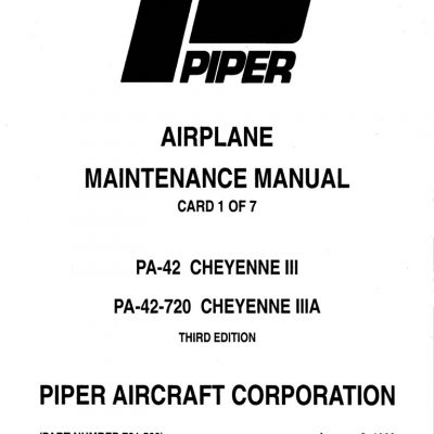 Cessna Model R182 & TR182 Series 1978 thru 1986 Service
