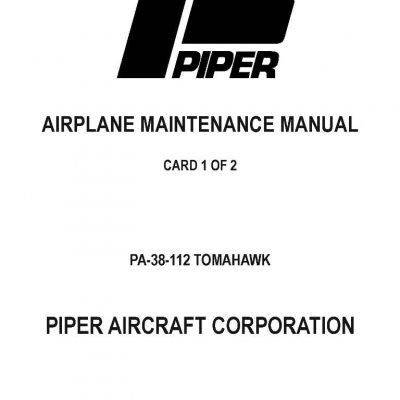 eAircraftManuals.com website your source for aircraft manuals!