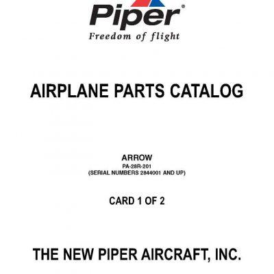 Piper PA-28 Maintenance & Parts Manuals Archives