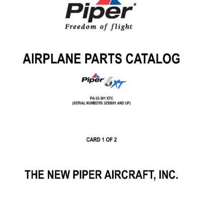 Fine Piper Parts Manual Pa 32 Wiring 101 Tzicihahutechinfo