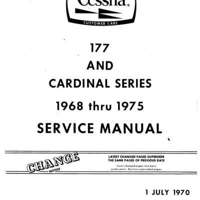 Cessna Model 152 Pilot's Operating Handbook and FAA