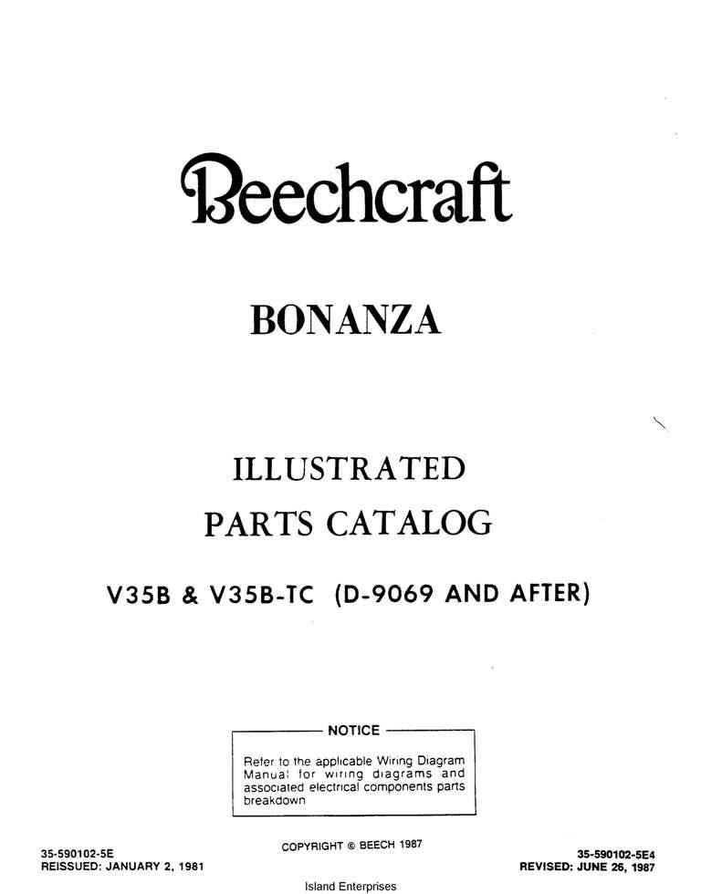 beech 33 35 36 series eaircraftmanuals com rh eaircraftmanuals com Beech 36 Bonanza 36 Beech Bonaza