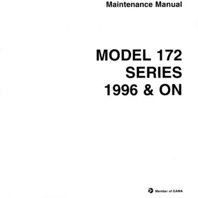 Cessna 172 Service Manual Archives