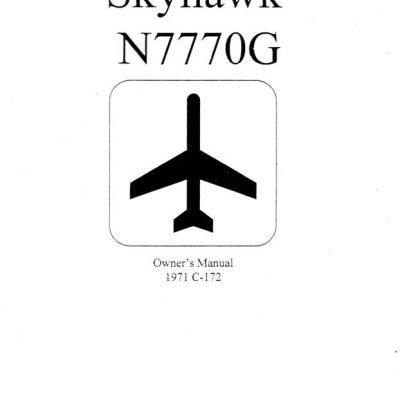 Cessna Model 172, C172N-P, F172N-P Thielert Engines