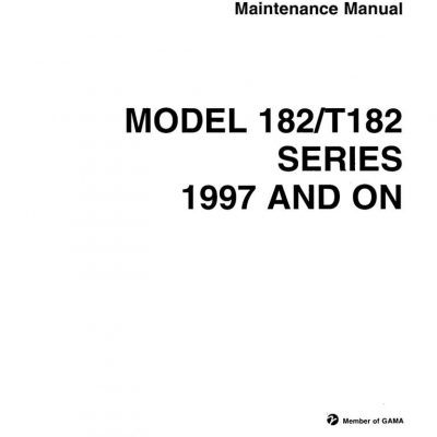 Cessna 182 Service Manual Archives