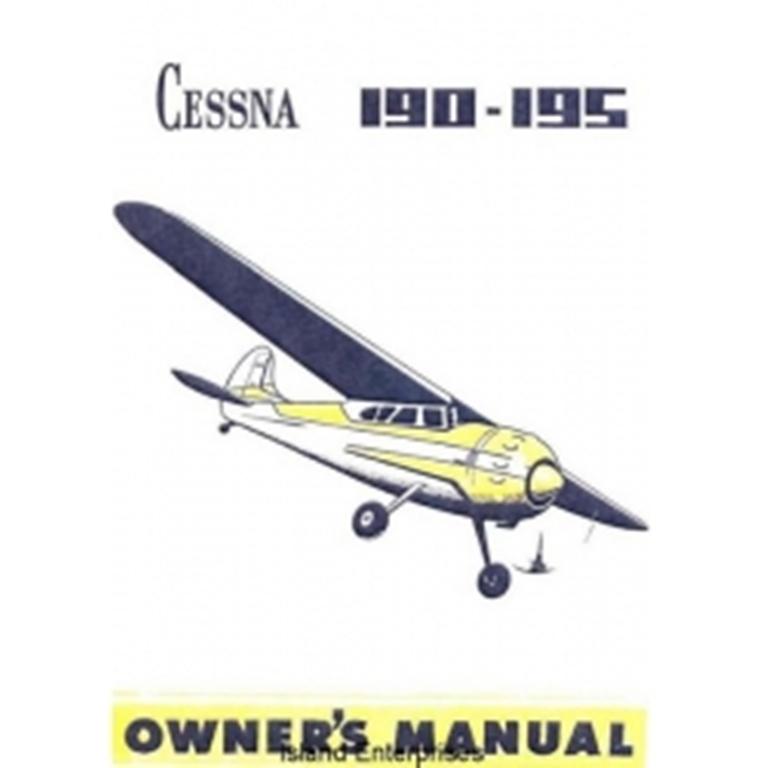 Cessna 195 manual