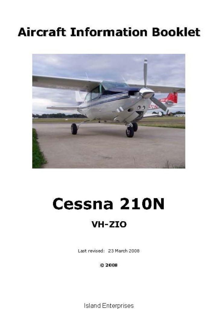 Cessna 210 Manual