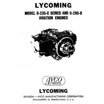 LYCOMING AIRCRAFT ENGINES O 360 O 540 OVERHAUL MANUAL