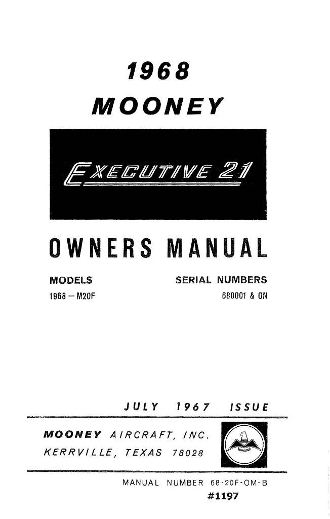 Cessna 190 and 195 Businessliner Owner's Manual