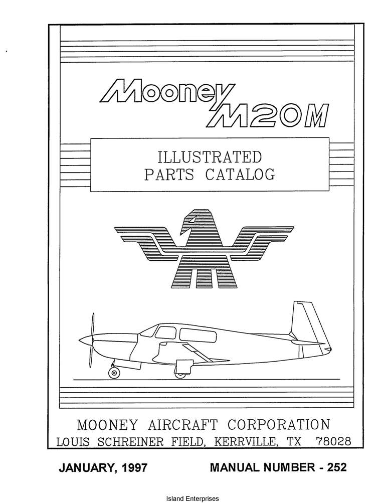 Mooney M20M Parts Catalog