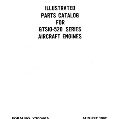 Continental 520 Engines Manual Archives