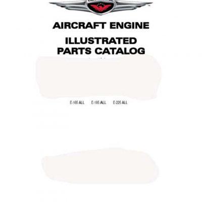 Continental E165,E185 & E225 Engines Manual Archives