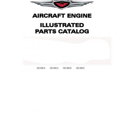 Continental Parts Catalog X30046A GTSIO-520 Series