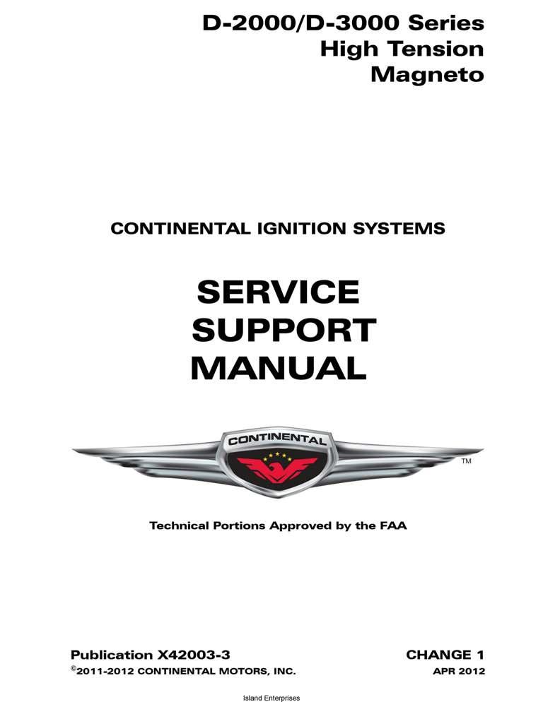 Bendix D 3000 service Manual