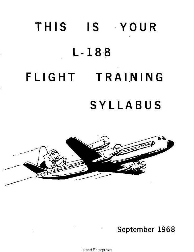 Lockheed L-188 Electra Flight Training Syllabus 1968