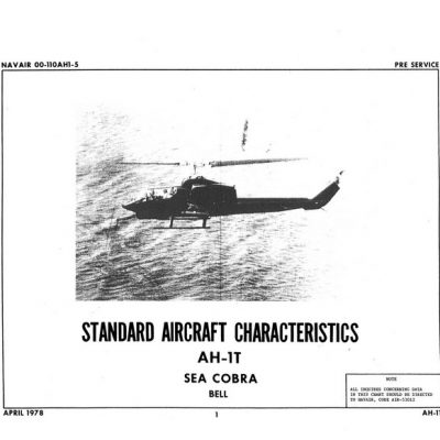 Boeing XB-47D Standard Aircraft Characteristics 1952