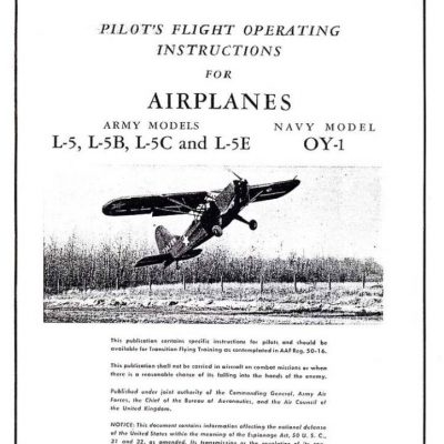 Taylorcraft L-2 , L-2A and L-2B Structural Repair