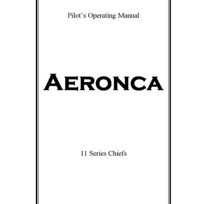 Bellanca Citabria 7GCBC Pilot's Operating Manual