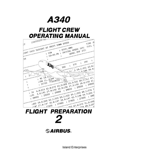 Airbus A340 Flight Crew Operating Manual