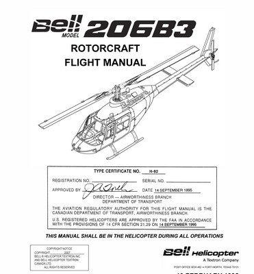 Bell Model YFM-1A Operation and Flight Instruction 01