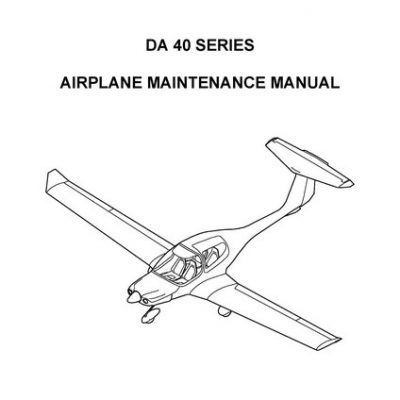 Diamond Aircraft Maintenance & Parts Manuals Archives