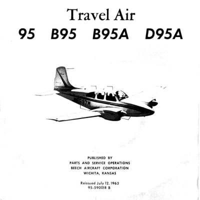 beechcraft 95 travelair manual