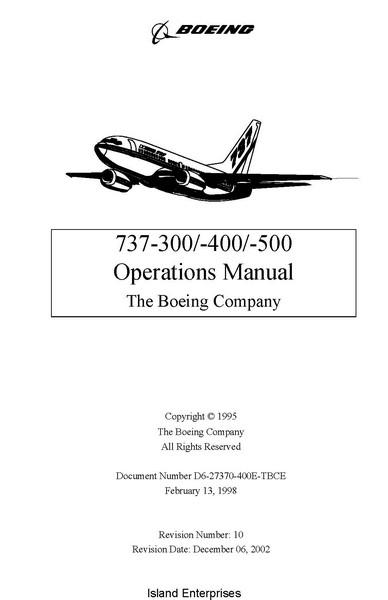 737 300 maintenance Manual