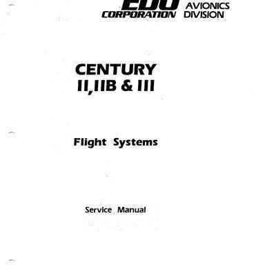 Century POH & Flight Manual Archives