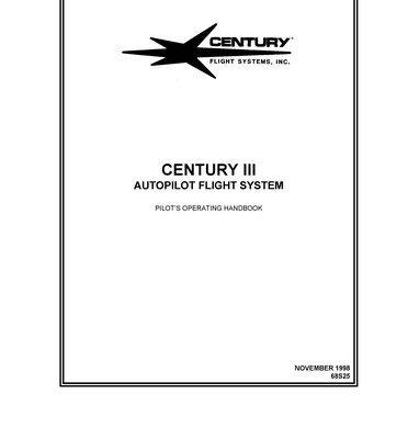 Edo-Aire Mitchell Century IIB Auto Pilot Manual