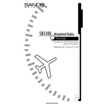 Sandel SN3308 Pilot's Guide 2008